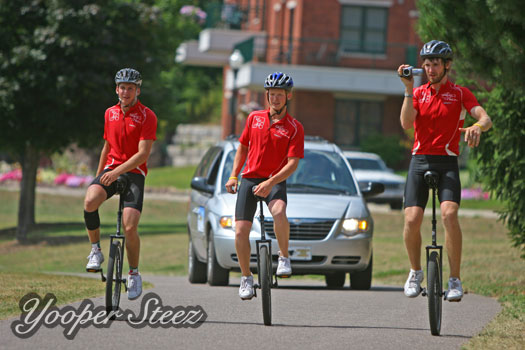 100 Miles on a Unicycle