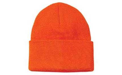 Hunter Orange Knit Cap