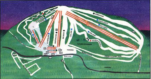 Ski Brule  Ski Hill