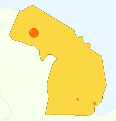 Ugliest Michigan Map Ever